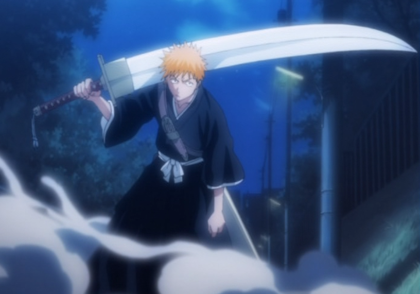 Bleach sword