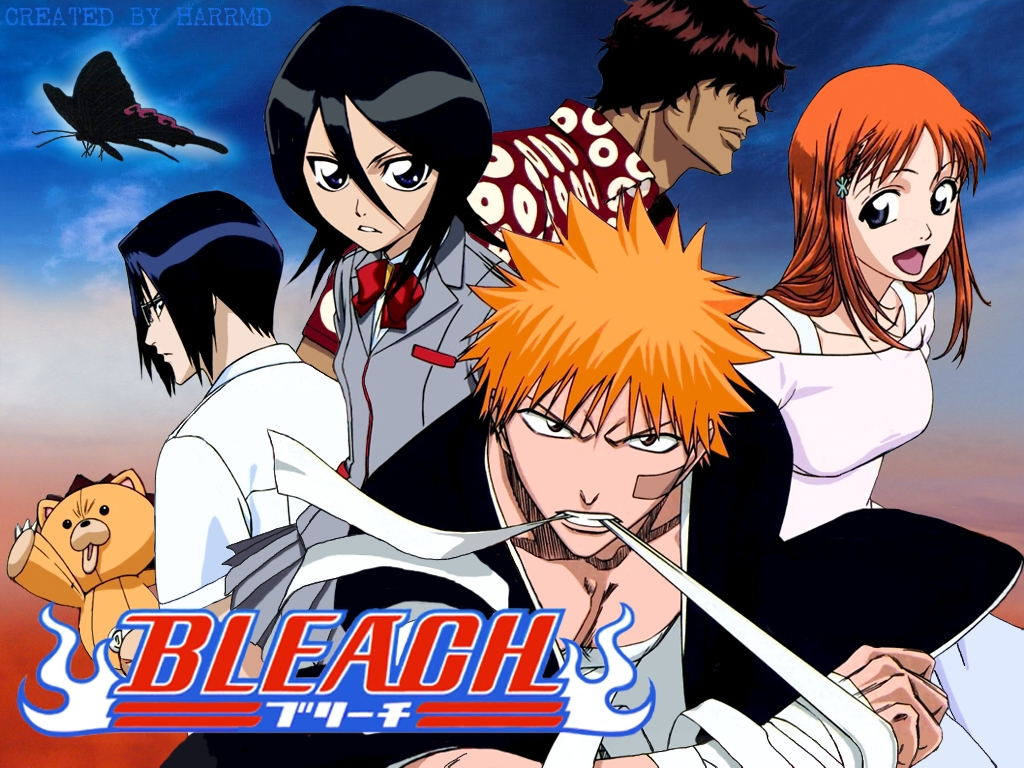 Anime Characters Images : Why bleach is the best anime ever trueswords