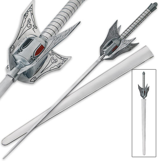 Rapier Fantasy Sword Inspired By Anime True Swords
