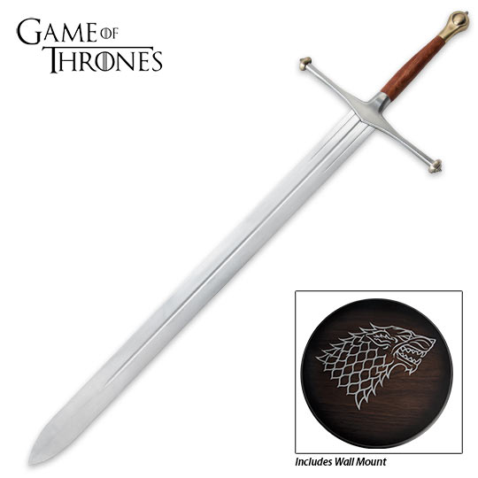 Ice Sword of Ned Stark - Game Of Thrones Replica | True Swords