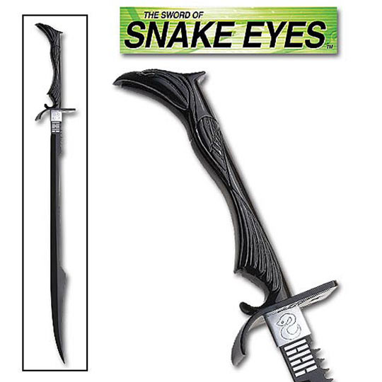 GI JOE Snake Eyes Sword Replica