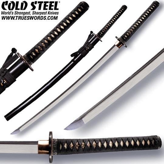 Cold Steel Battle Ready Warrior Katana 88bkw True Swords