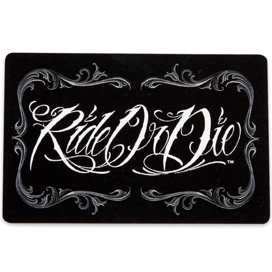 David gonzales ride or die playing cards true swords for Ride or die jewelry