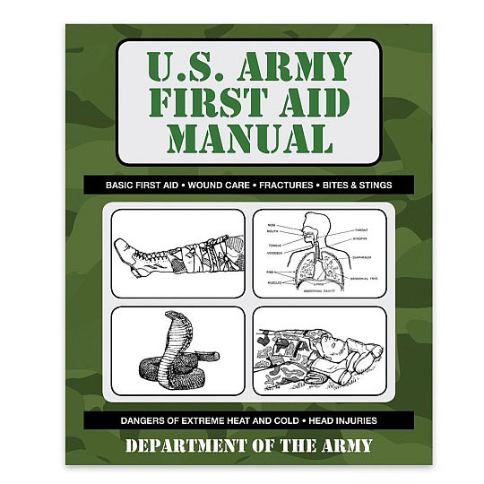 Ref. Book - U.S. Army First Aid Manual