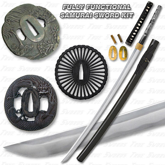 Build a Katana - Battle Ready Full Tang Sword Assembly Kit