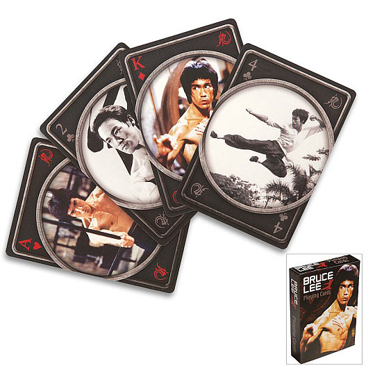 Tribute to Bruce Lee - Playing Cards Deck