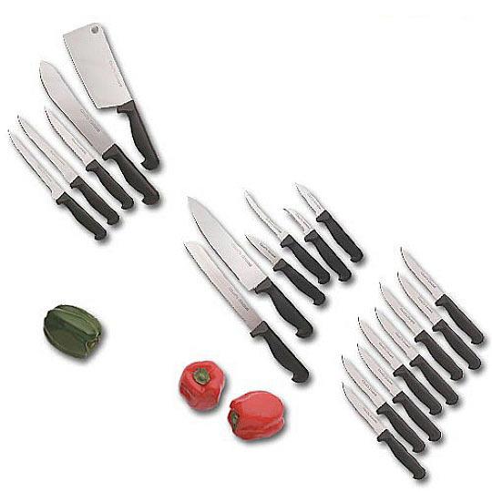 kitchen knife budget set 19 pieces true swords