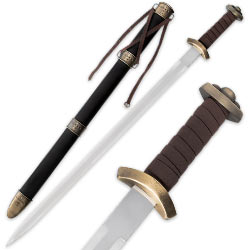 Godfred Medieval Viking Sword w/ Matching Scabbard