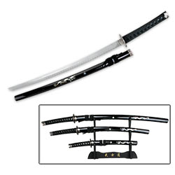 Zennyo Ryuo 3-Piece Samurai Sword Set