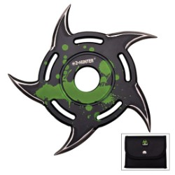 Z-Hunter Zombie Throwing Star Green