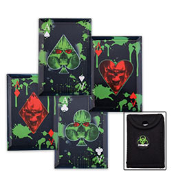 Zombie Hunter Throwing Cards w/ Sheath