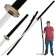 75 In. Odachi Samuari Warrior Sword w/ Matching Scabbard