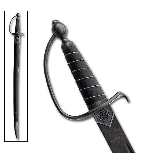 Authentic Pirate Cutlass Sword   True Swords
