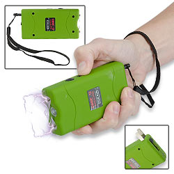 Toxic Green Zombie Apocalypse 2.5 Million Volt Stun Gun