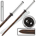 Shinwa Full Tang Damascus Steel White Emperor Katana Sword