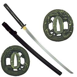 Ten Ryu –Hand Forged Clay Tempered 1045 Carbon Steel Dragon Katana