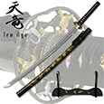 Ten Ryu –Hand Forged Carbon Steel Katana Sword