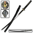 Black Dragon Samurai Sword - 1045 Carbon Steel