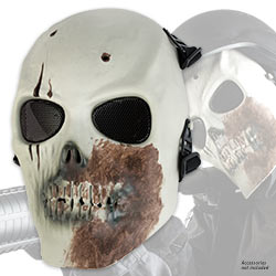 Zombie Killer Airsoft Facemask – ABS / Adjustable