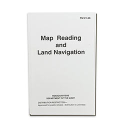 Military Manual - Army Field Map Reading and Land Navigation