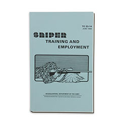 Military Manual - Army Sniper Training & Employment