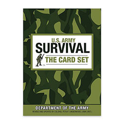 Ref. Book - U.S. Army Survival Card Set