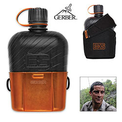 Modern Canteen w/ Sheath & Cup by Bear Grylls