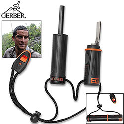 Bear Grylls Fire Starter - Flint Striker w/ Extras