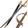 Revolutionary War Saber Sword w/ Scabbard