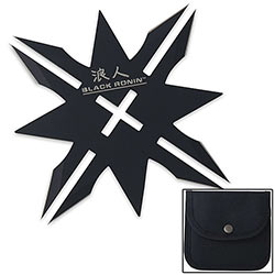 Black Ronin 6-Point Throwing Star w/ Sheath