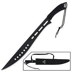 Blackout Bolo Machete & Shoulder Sheath