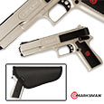 Marksman 2000K Laserhawk Airsoft Pistol Complete Shooter's Kit