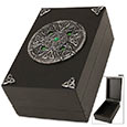 Celtic Knotwork Crest Trinket Box w/ Hidden Latch