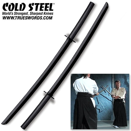 Cold Steel Highest Quality Bokken Set- Dueling Katana Swords