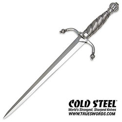 Cold Steel Colichemarde Double Edge Dagger Knife 88CLMD