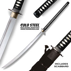 Cold Steel HUGE Battle Ready Nadachi Sword 88BN