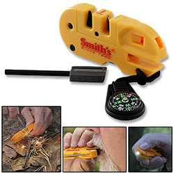 Smith's Combo Knife Sharpener & Survival Tool
