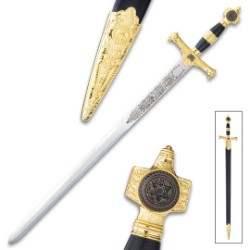 Star Of David Sword And Scabbard