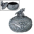 Dragon Celtic Treasure Box - Spherical