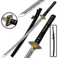 Dueling Dragon Black Katana – Hand-Forged Carbon Steel