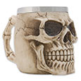 Extreme Detail Skull Mug w/ Bone Handle