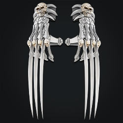 Grim Reaper Hand Claw Set