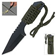 Fire Striker Tanto Knife w/ Sheath - Full Tang