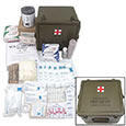 First Aid - Large General Medic Kit w/ Military Style Case