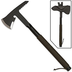 Forged Tomahawk - 1075 High Carbon Steel - Tactical Rescue Tool