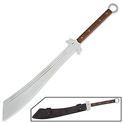 Full Tang Action Ready Dadao War Sword - 1075 High Carbon Steel