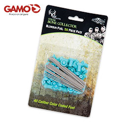 "Gamo Bone Collector 3"" Color Coded .40 Cal. Blowgun Darts 50 Count Pack-Blue"