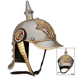German Pickelhaube Helmet Replica