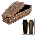 Gothic Vampire Coffin Style Treasure Box