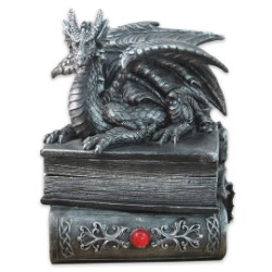 Guardian Of Bibliophiles Dragon Stash Box